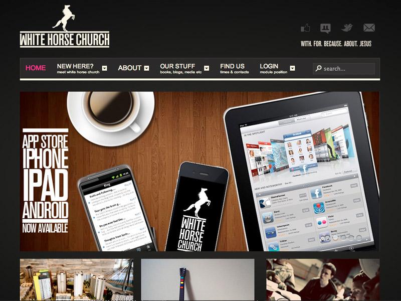 Whitehorse Church Website